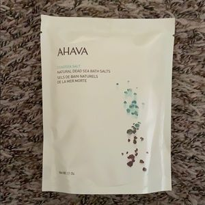 new in bag Ahava dead sea salt bath salts